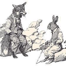 Fox and Rabbit False 01